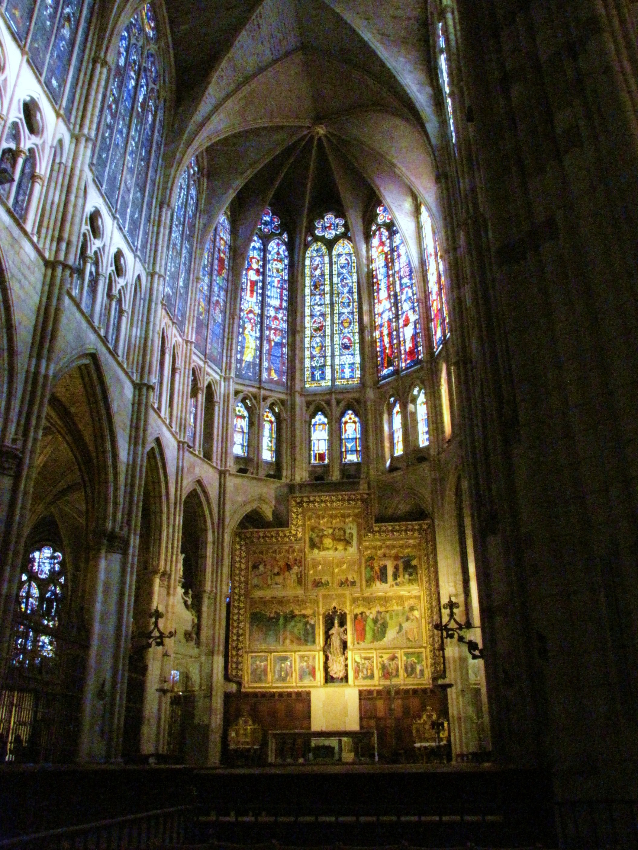 Interior-Catedral-de-León