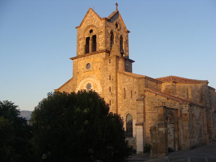 -Iglesia de San Vicente, Frías.Burgos-