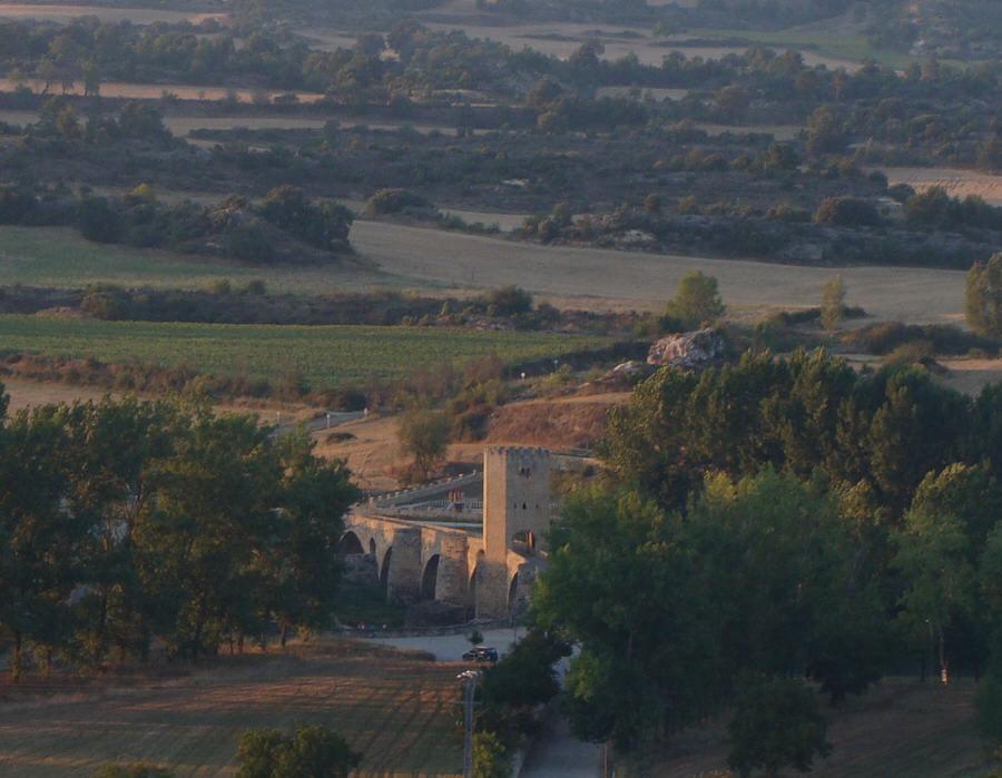 -Puente medieval de Frías,Burgos-
