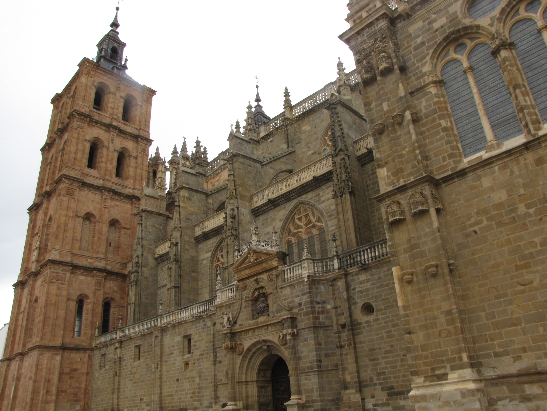 Catedral de Santa María en Astorga.