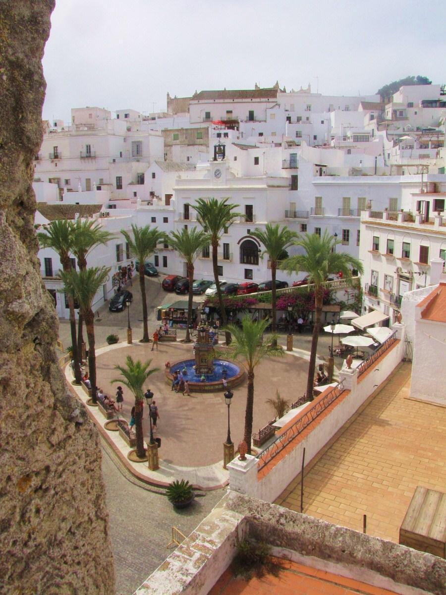 Vista plaza de los pescaitos - Vejer de la Forntera-