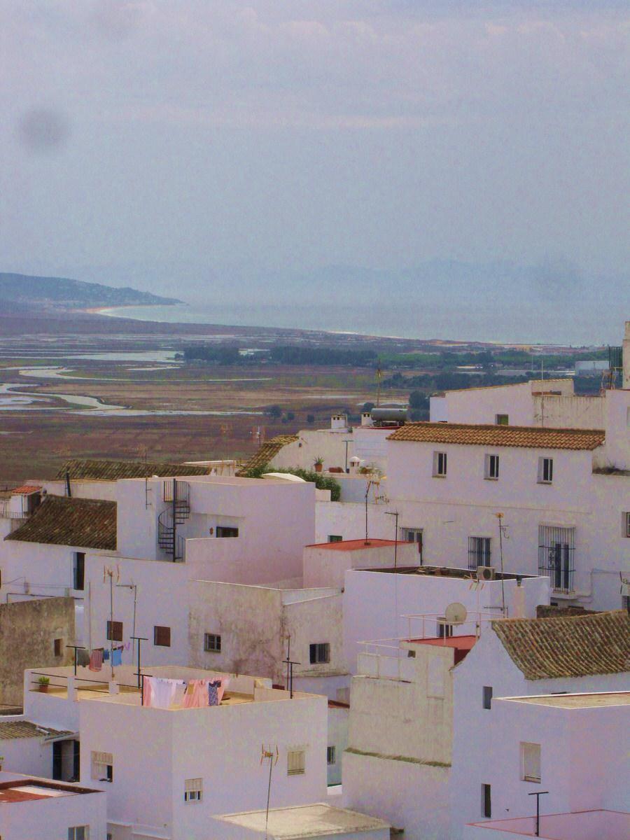 Vistas de la Playa del Palmar desde la azotea. Vejer de la Frontera