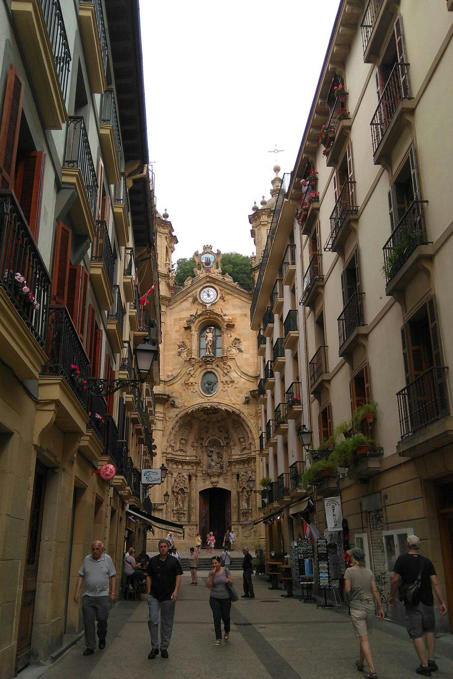 -Basílica de Santa María del Coro, San Sebastián-