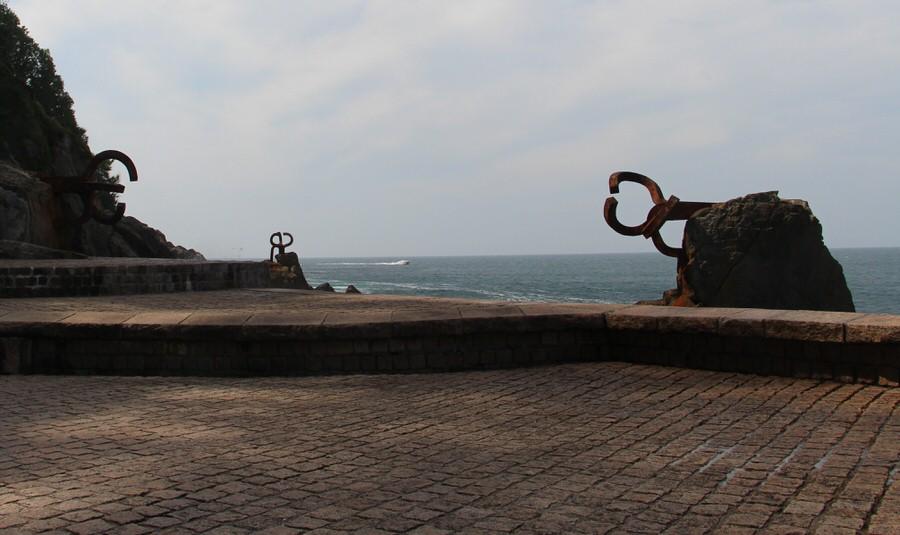 -Esculturas El Peine del Viento, San Sebastián-