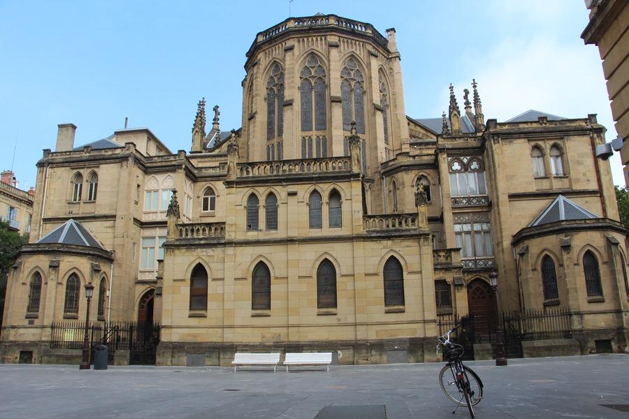 -Parte Trasera de la Catedral del Buen Pastor, San Sebastián-