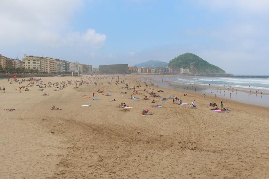 Playa de la Zurriola, San Sebastián