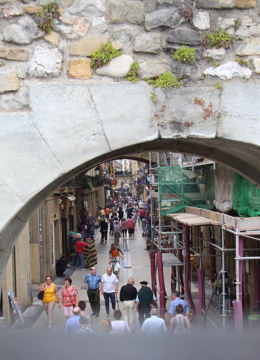 -Entrada Portaletas, San Sebastián-