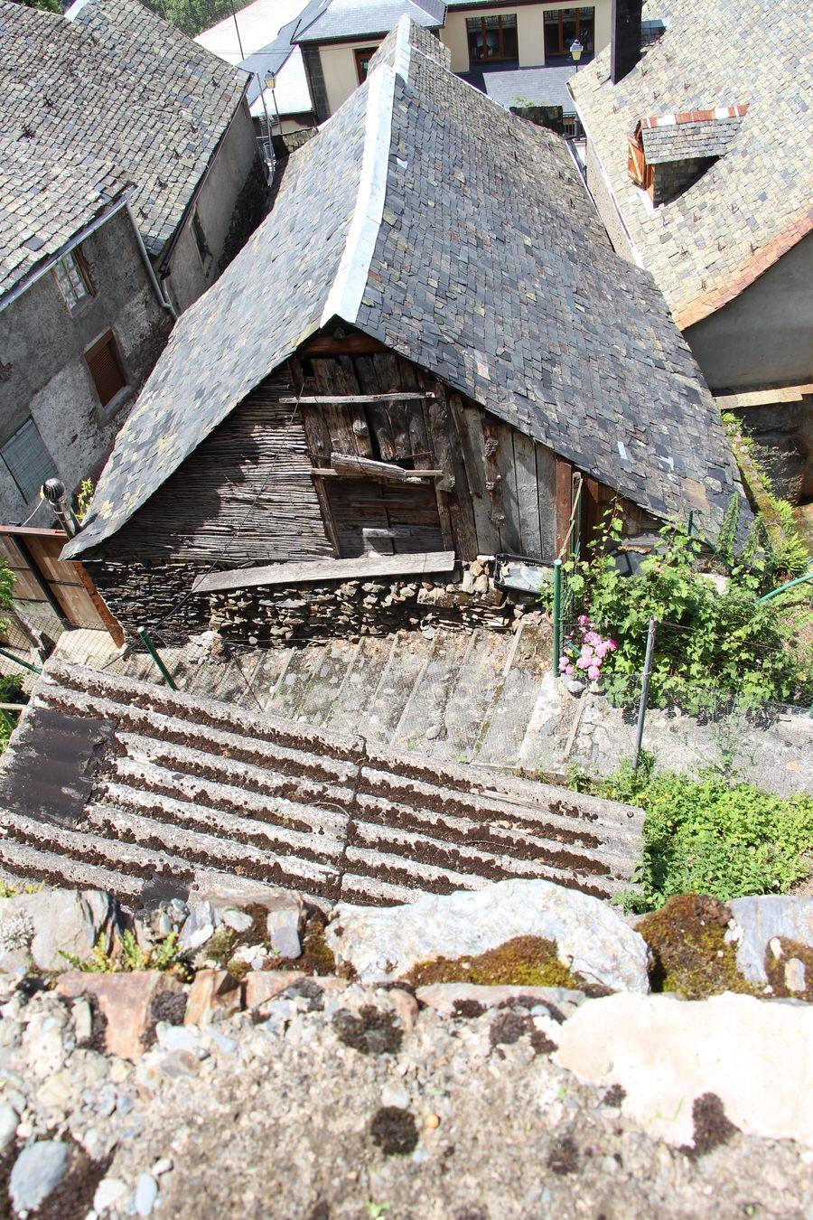 Vistas casa típica de Canejan