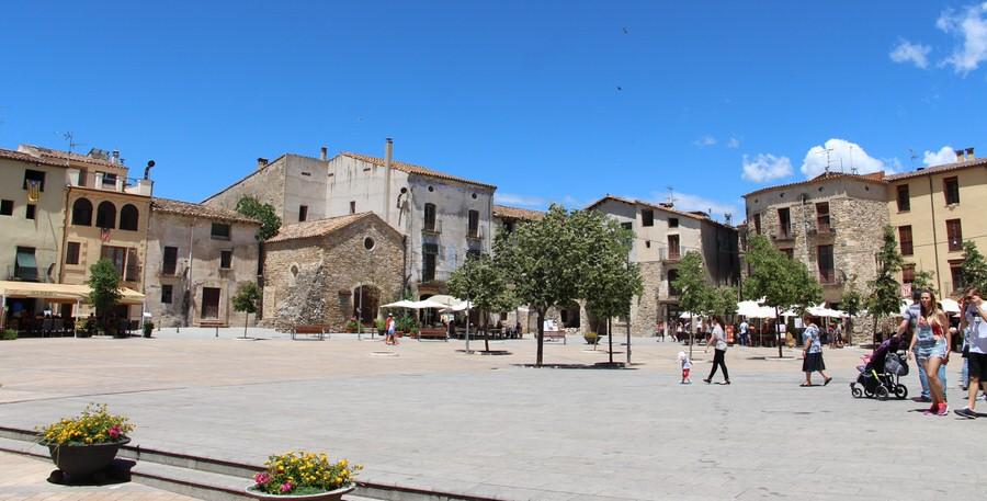 -Plaza San Pedro,Besalú-