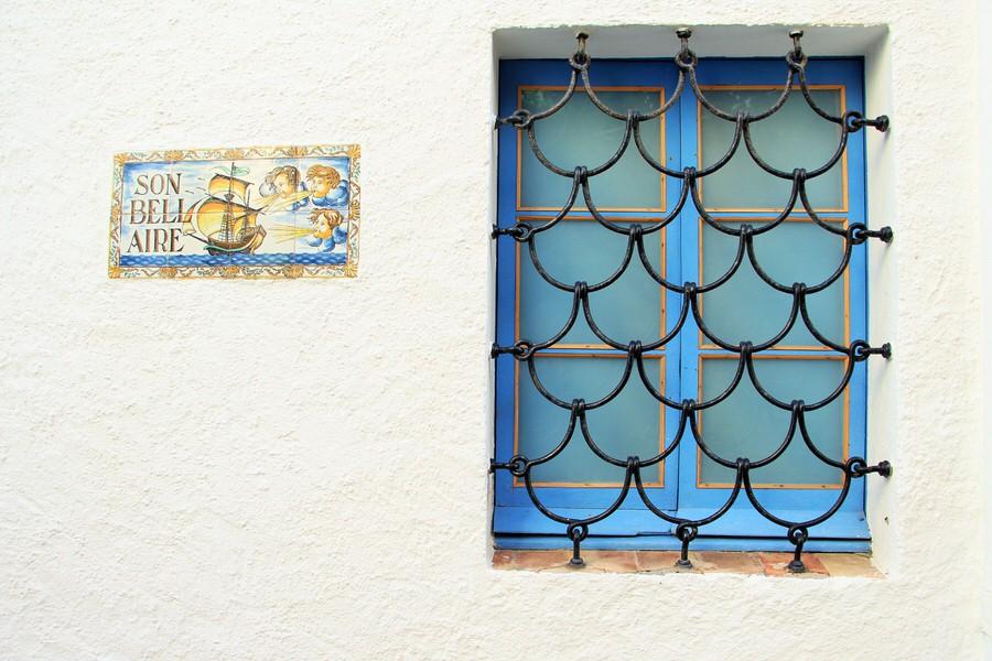 Ventana casa particular en el casco histórico
