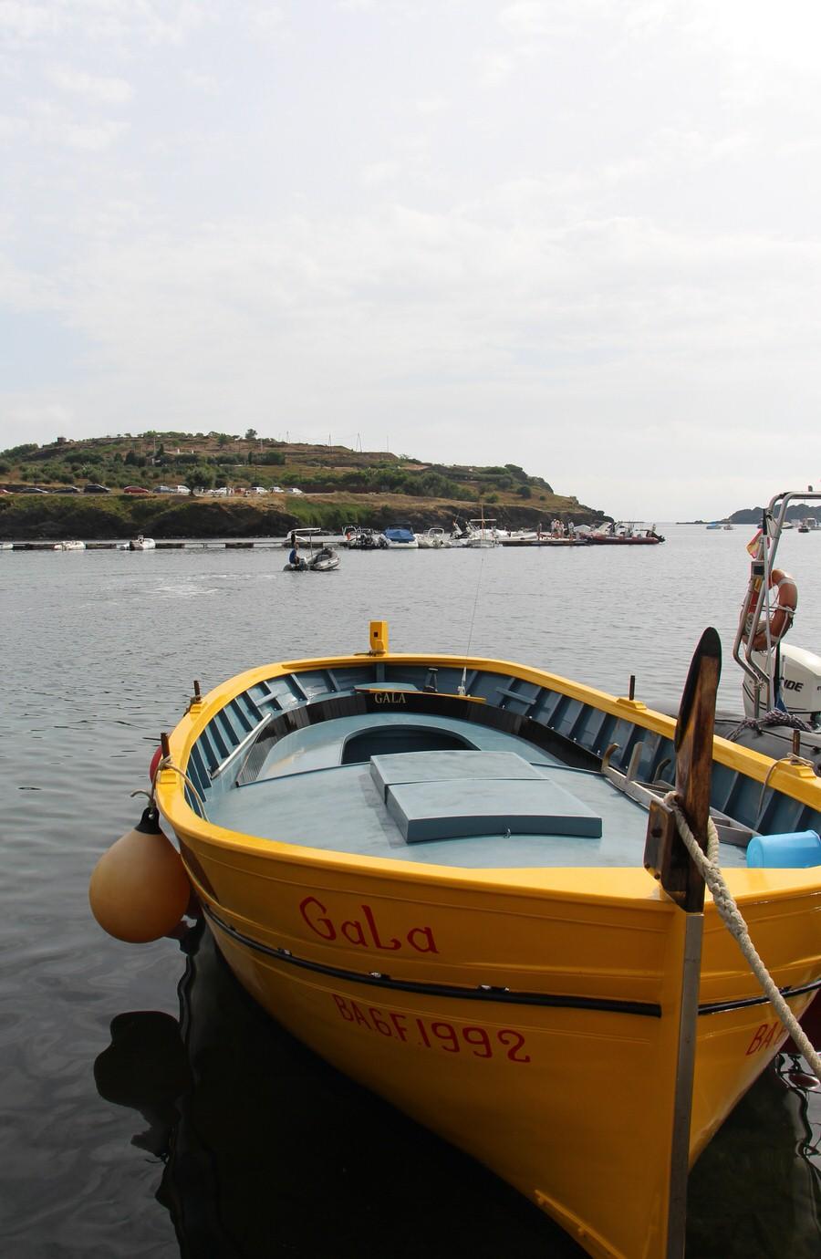 Barca de paseo De Dalí y Gala