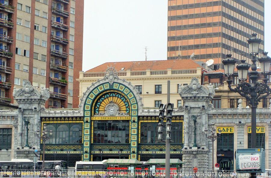 Estación de Santander, Bilbao