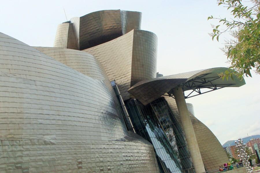 -Entrada Museo de Bellas Artes, Bilbao-