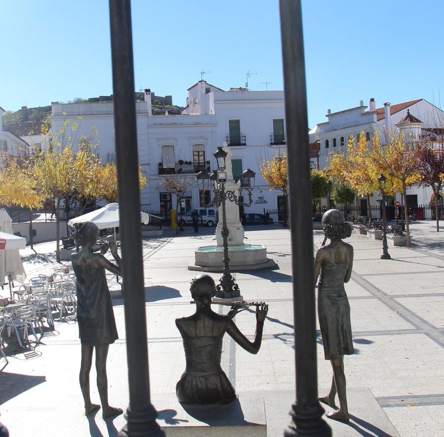 Plaza de La Marquesa -Aracena-