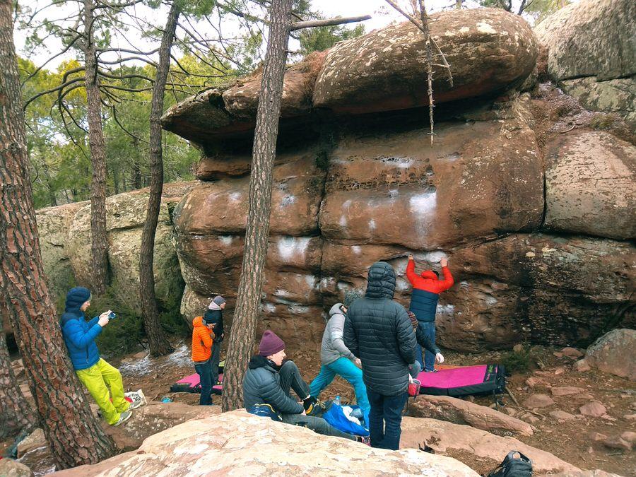 Escalada-libre-bulder