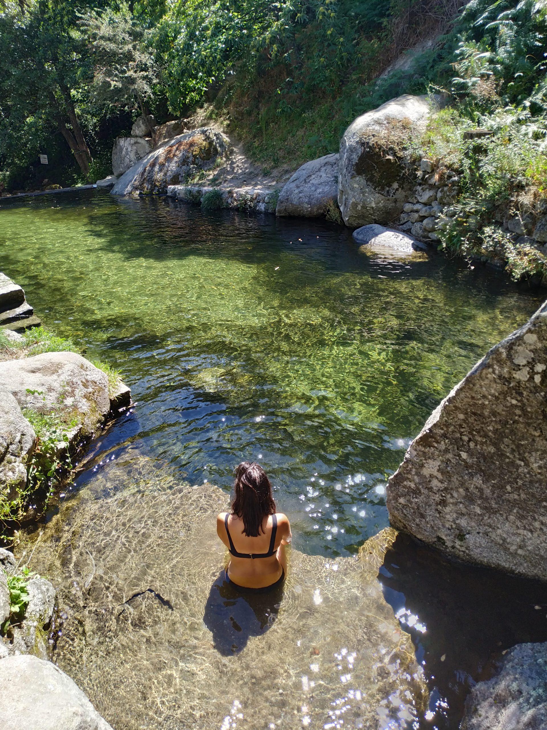 Piscina Natural en Cuevas del Valle, Ávila